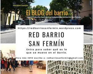 Red de Barrio  ¡¡SAN FERMÍN YA TIENE UN BLOG CON TODOS SUS RECURSOS!!