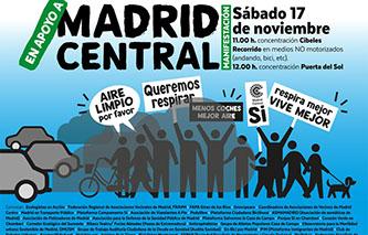 Respira, vive mejor, con Madrid Central!