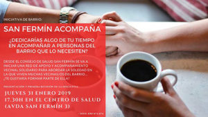 San Fermín Acompaña. Red de apoyo y acompañamiento vecinal solidario