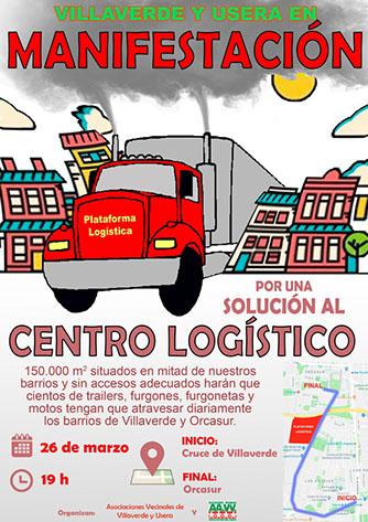 Por una solución al Centro Logístico de distribución en construcción en la calle Eduardo Barrerios.