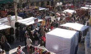 Un Mercadillo en San Fermín