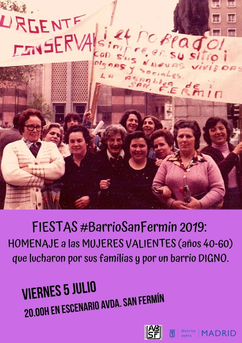 Homenaje a las Mujeres de San Fermín