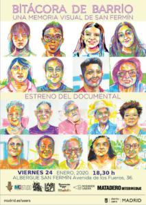 Estreno del documental: BITÁCORA de Barrio, una memoria visual de San Fermín.