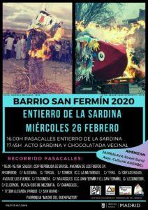 """Un año más """"Entierro de la Sardina"""" en el Barrio – Miércoles 26 de abril."""