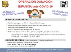 Donación para la Infancia: Nota informativa