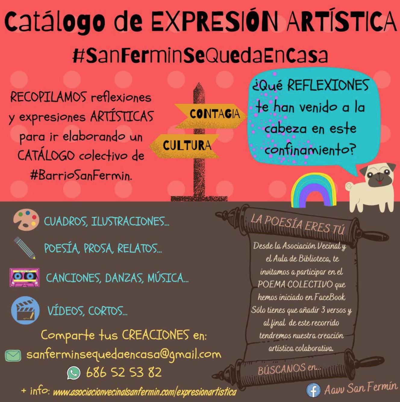 La Asociación Vecinal‐Biblioteca Vecinal de San Fermín ha puesto en marcha dos iniciativas culturales