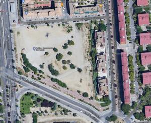 Construcción de un Parking disuasorio en el solar destinado a Instituto de Educación Secundaria (IES) en el Barrio de San Fermín.