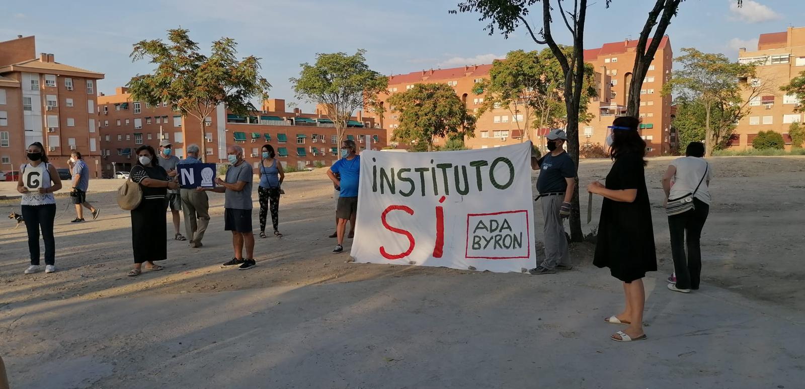 DEMANDA DE CONSTRUCCIÓN DEL INSTITUTO (IES ADA BYRON) EN EL BARRIO