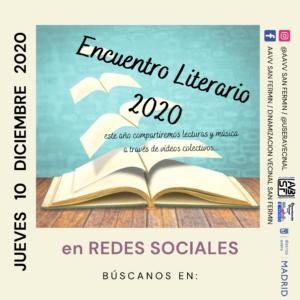 ENCUENTRO LITERARIO 2020, EN PANDEMIA