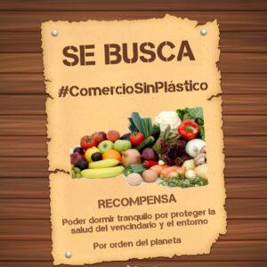 👀 *SE BUSCA #ComercioSinPlásticos*
