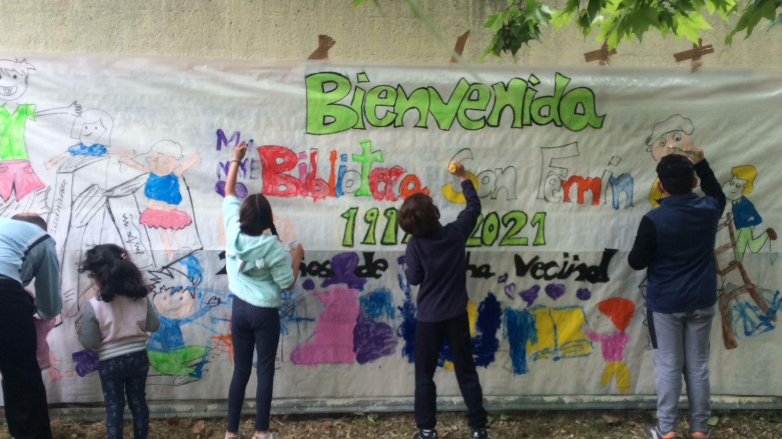Taller del mural.